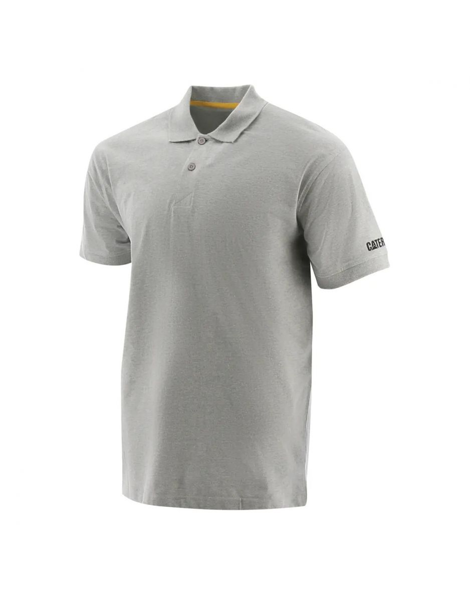 REMERA POLO CATERPILLAR GRIS (1620008)